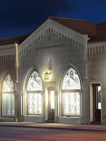 Arthur Chabon Architect Palm Beach Synagogue Florida